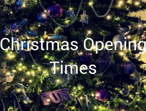 Christmas Opening Times Published