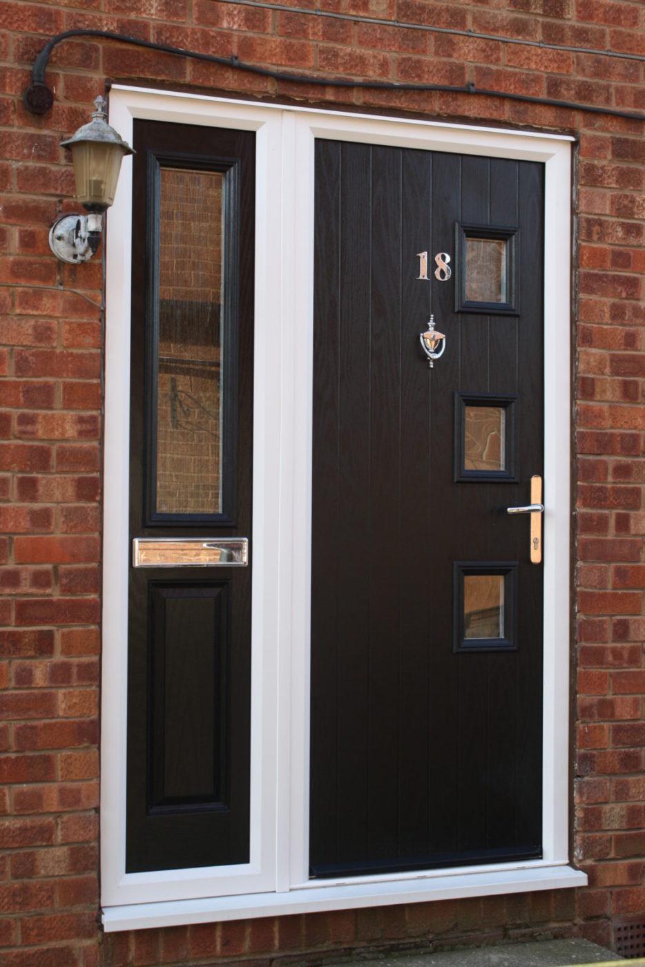 Composite door b p windows for Composite windows
