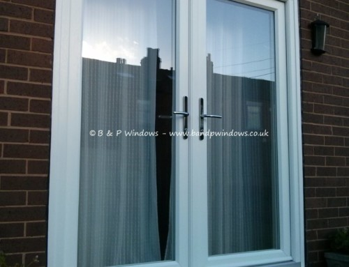 French doors in timber alternative