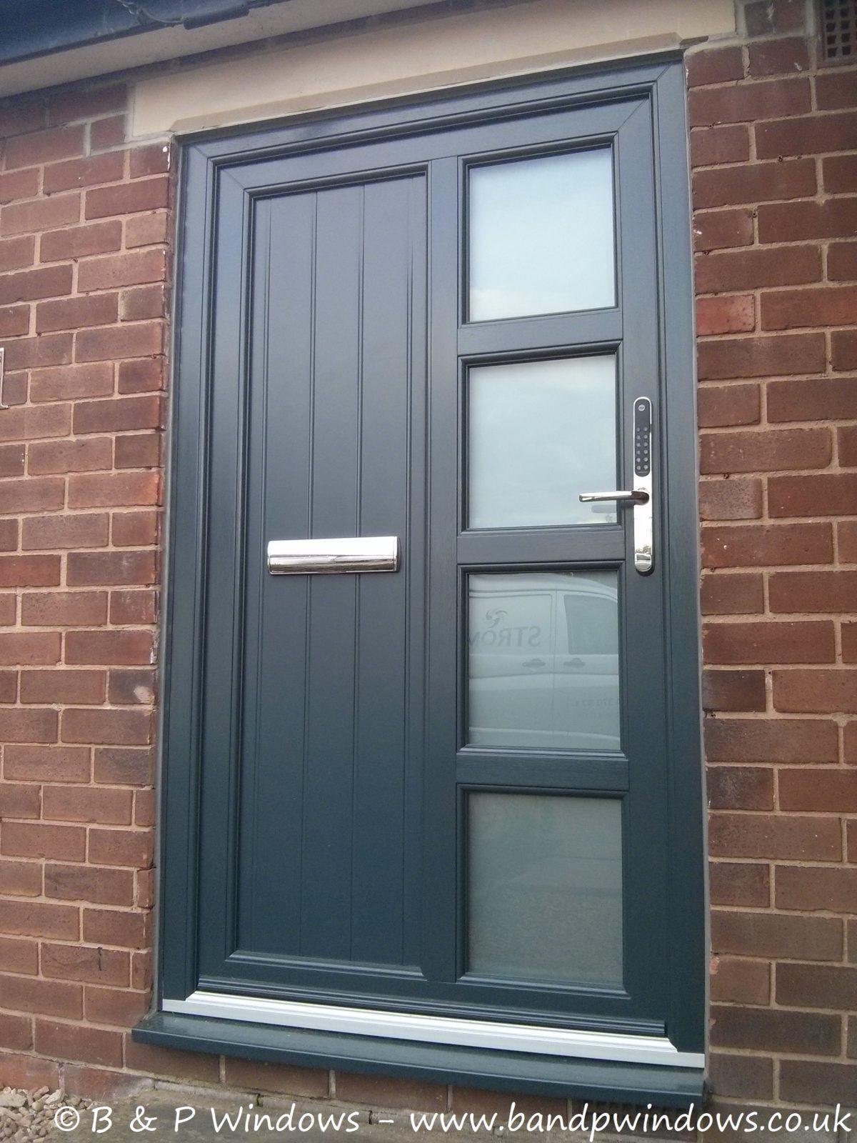 Gallery B P Windows: extra wide front doors