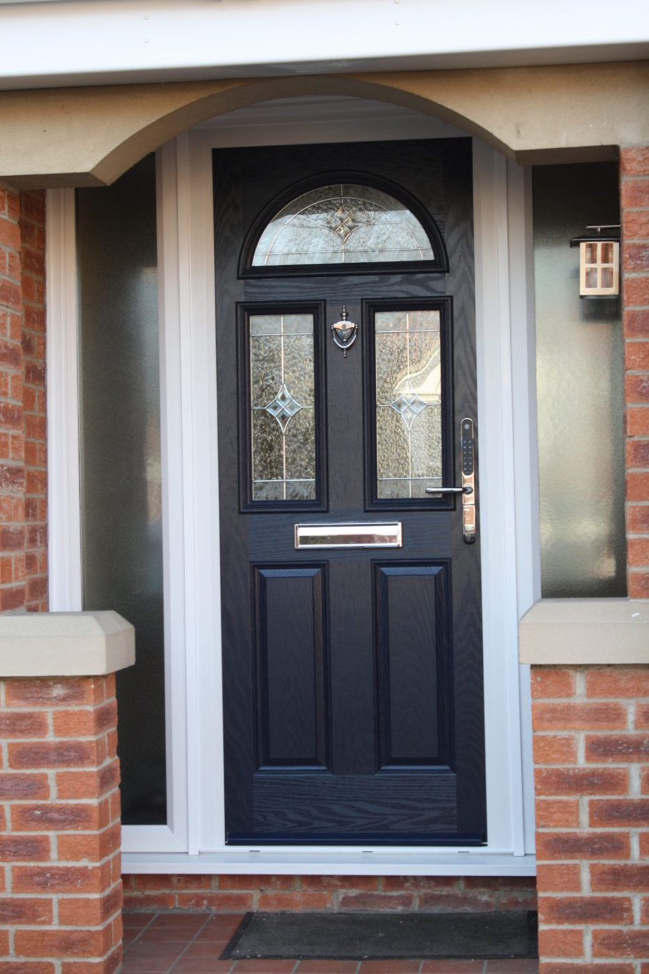 Composite door b p windows for Composite windows