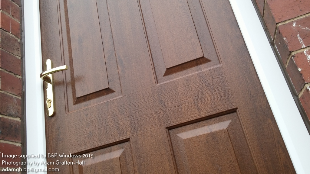 Timber look mechanical weld