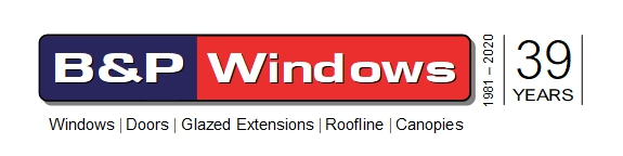 B & P Windows Logo