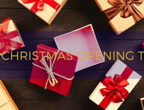 2018 Christmas Opening Times