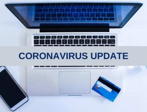 Coronavirus Trading Update