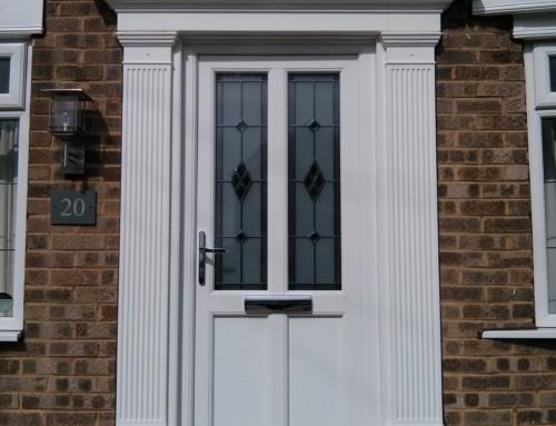 Engineered Door And Door Canopy