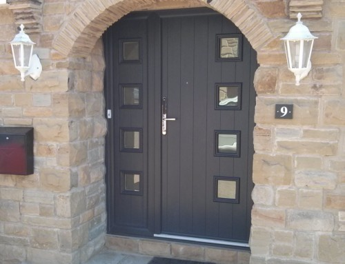 Milano Composite Solidor and matching sidelight
